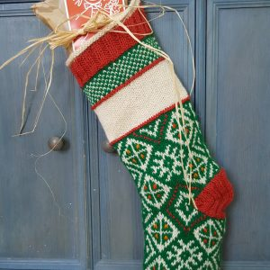 Christmas Stocking Traditional Pattern