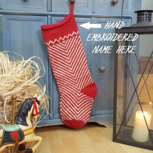 Personalizable Christmas Stocking