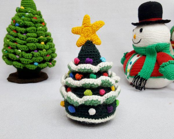Crochet Christmas tree