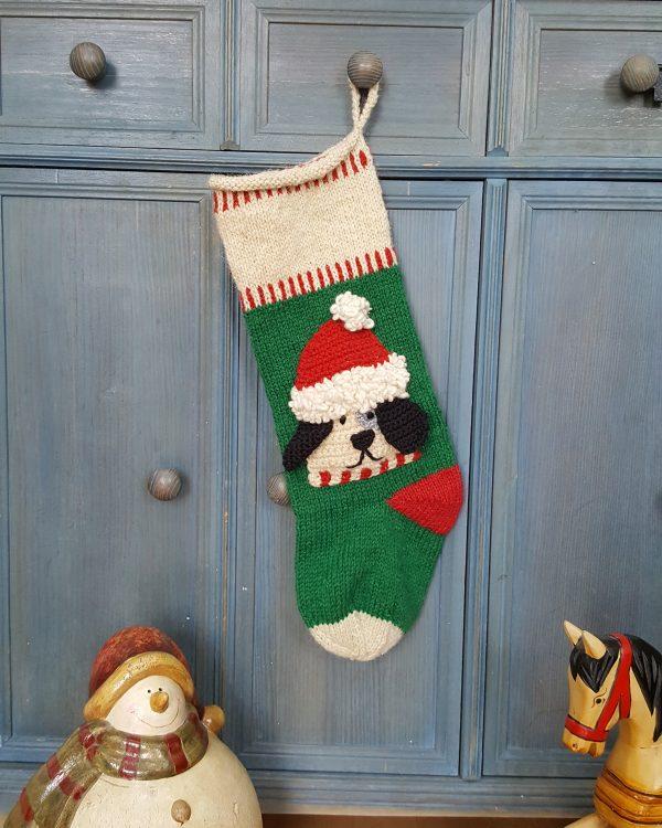 Christmas stocking for dog