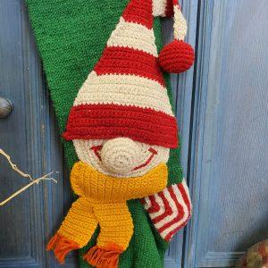 Christmas Stocking Elf Applique