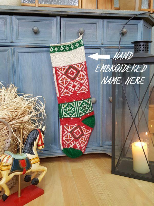 Personalizable Christmas Stockings
