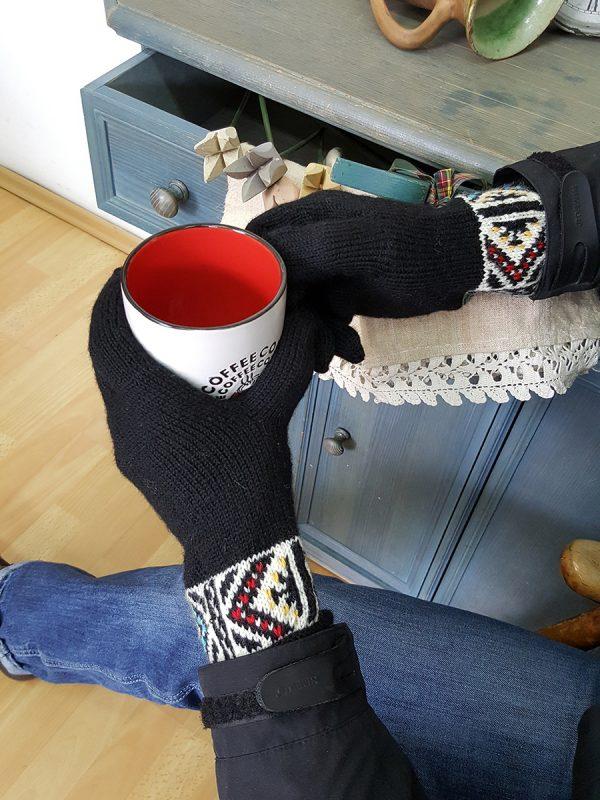 Black Men's Gloves