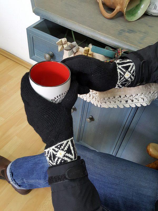 Black Men Gloves