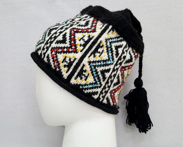Black Cold Weather Knit Hat