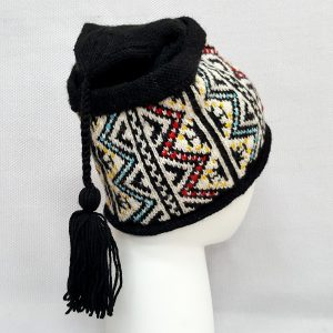 Traditional pattern winter cap