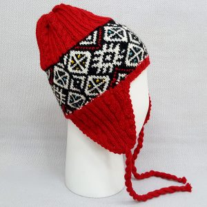 Red Hat with Ear Flaps