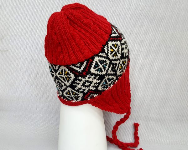 Red Cold Weather Hat