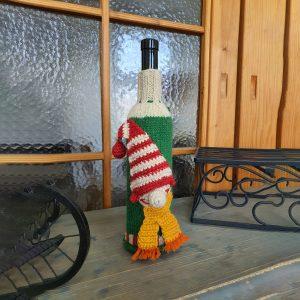 Bottle Cozies Christmas Elf