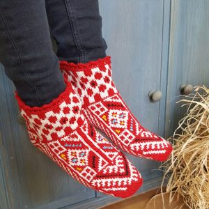 Red Slipper Socks