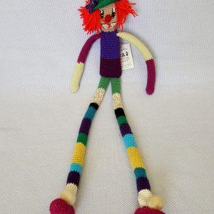 handmade clown toy