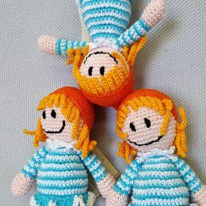 handmade crochet dolls