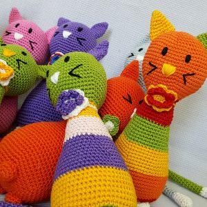 stuffed animal toys cats