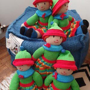 crochet stuffed doll