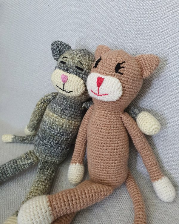 Wool crochet soft toy