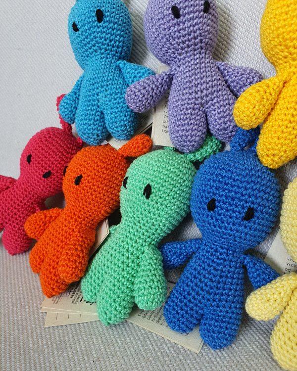 alien kids crochet toy