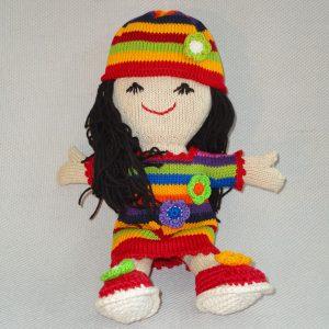 Rainbow Stuffed Doll