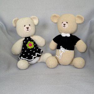 black teddy bear toys