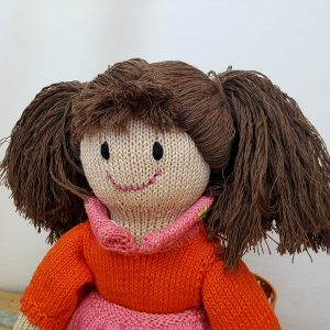 crochet amigurumi doll for girls