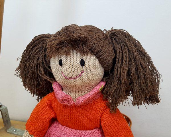 crochet amigurumi doll for girls