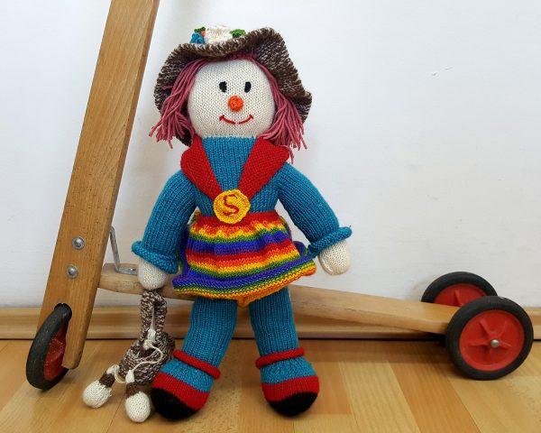 eco friendly stuffed doll