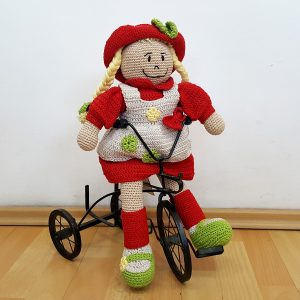 fair trade stuffed doll
