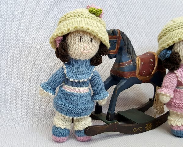 Light Blue Stuffed Doll