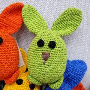 green bunny rabbit toys