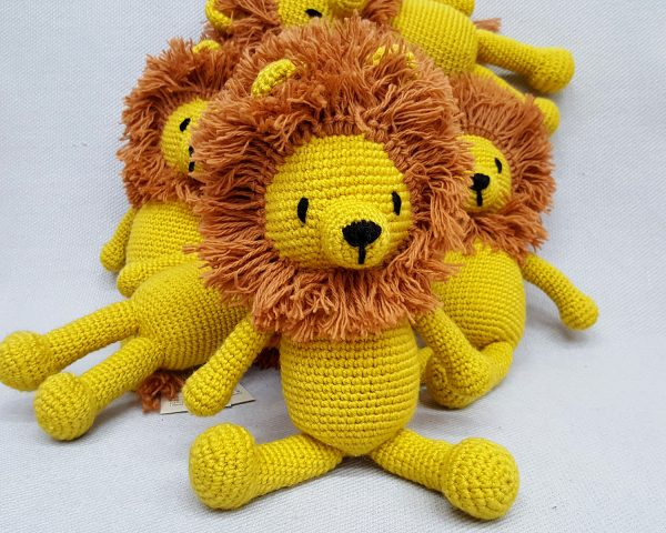 eco friendly lion toy