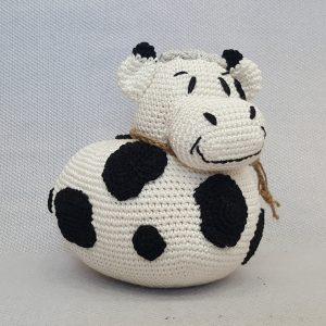 crochet cow toy