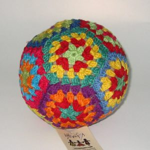 crochet colorful ball
