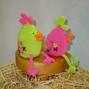 Amigurumi Chicken Toy