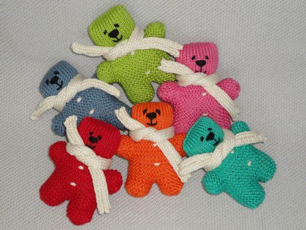 Rainbow Teddy Bears