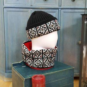 knitted fair trade cap