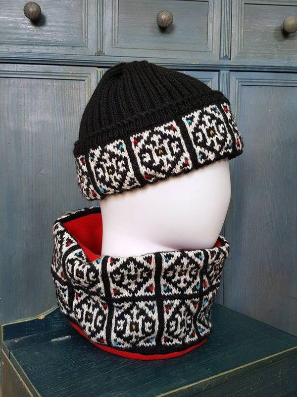 winter sports knit hat