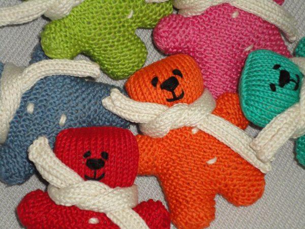 orange teddy bear