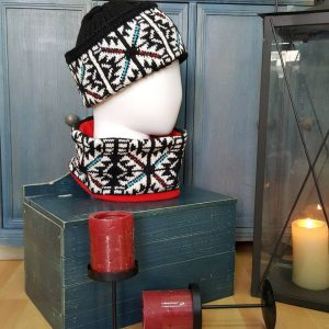 Jacquard Circle scarf