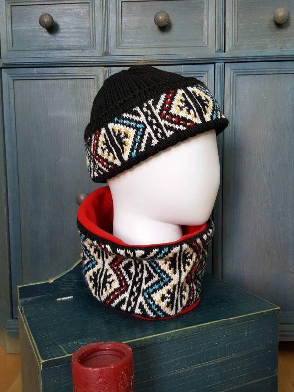 Fair Trade Winter Sport shawl