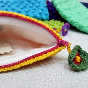 handmade eco friendly purse