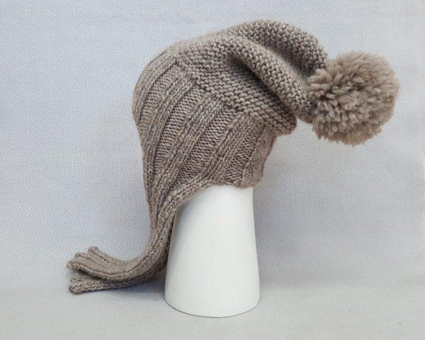 beige cold weather cap
