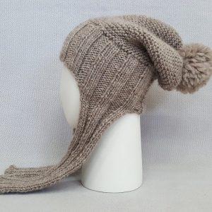 fair trade winter knit hat