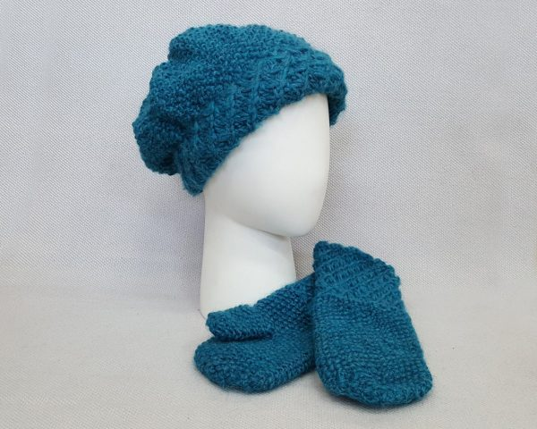 blue winter cap