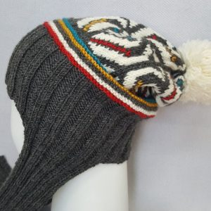 Jacquard cold weather beanie