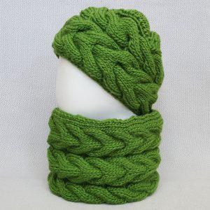 fair trade knit scarf