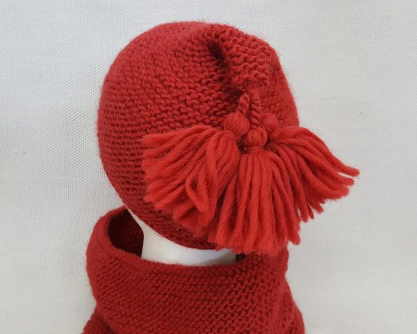 hat with tassels
