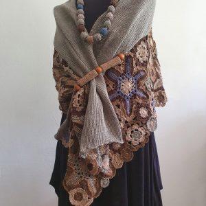 fair trade spring and autumn scarf