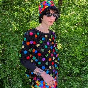 spring crochet cap