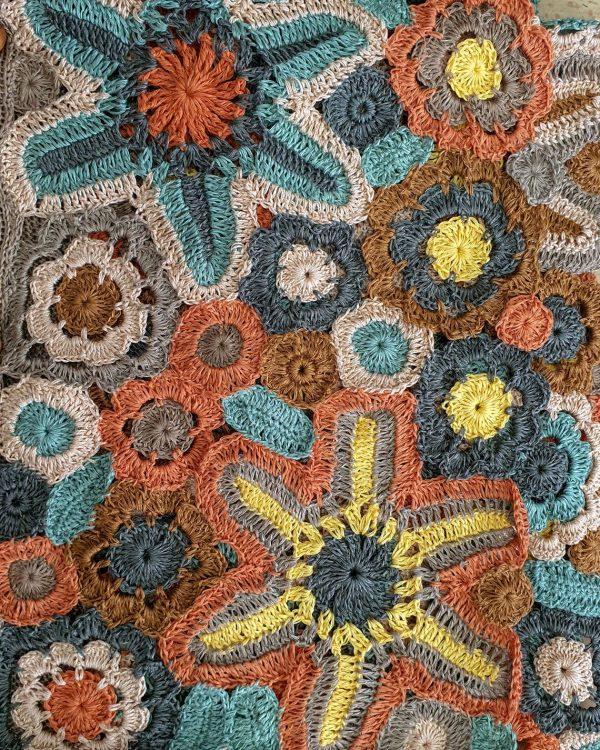 eco friendly hand crochet boho jacket
