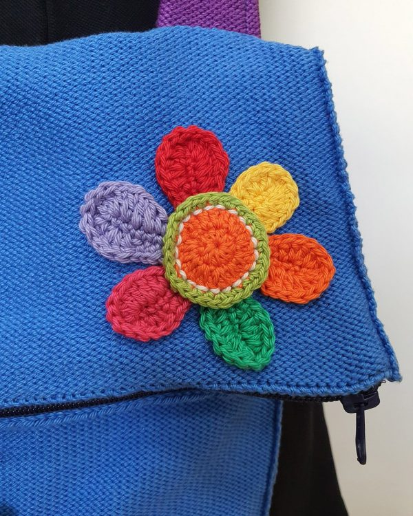 Bag with Doll Applique