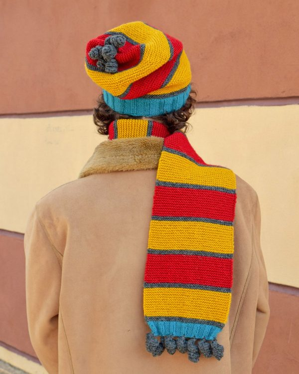 winter sports scarf